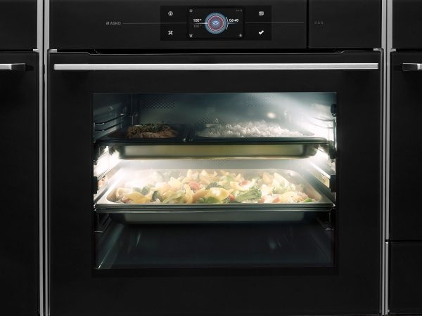 Cook with steam in oven from ASKO