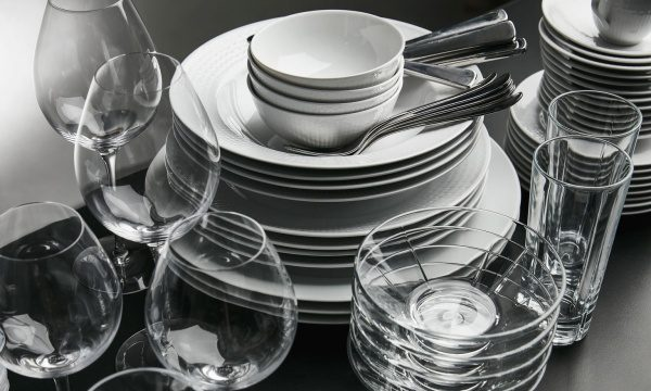 ASKO dishwasher takes good care of your china and glassware