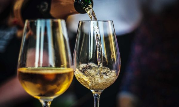 Enjoy a glass of white wine and when finnished use ASKO crystal glass dishwasher program.