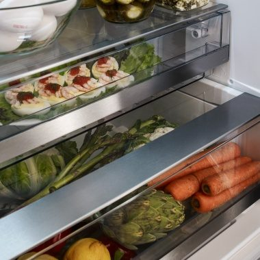 Great capacity in fridge from ASKO