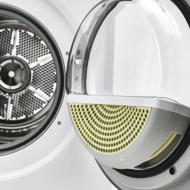 ASKO dryer with five different filters.