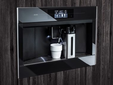 ASKO Coffee machines have a intuitive interface software based on consumer insights and usability tests.