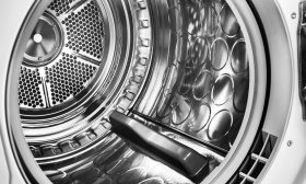 ASKO tumble dryer with stainless steel drum