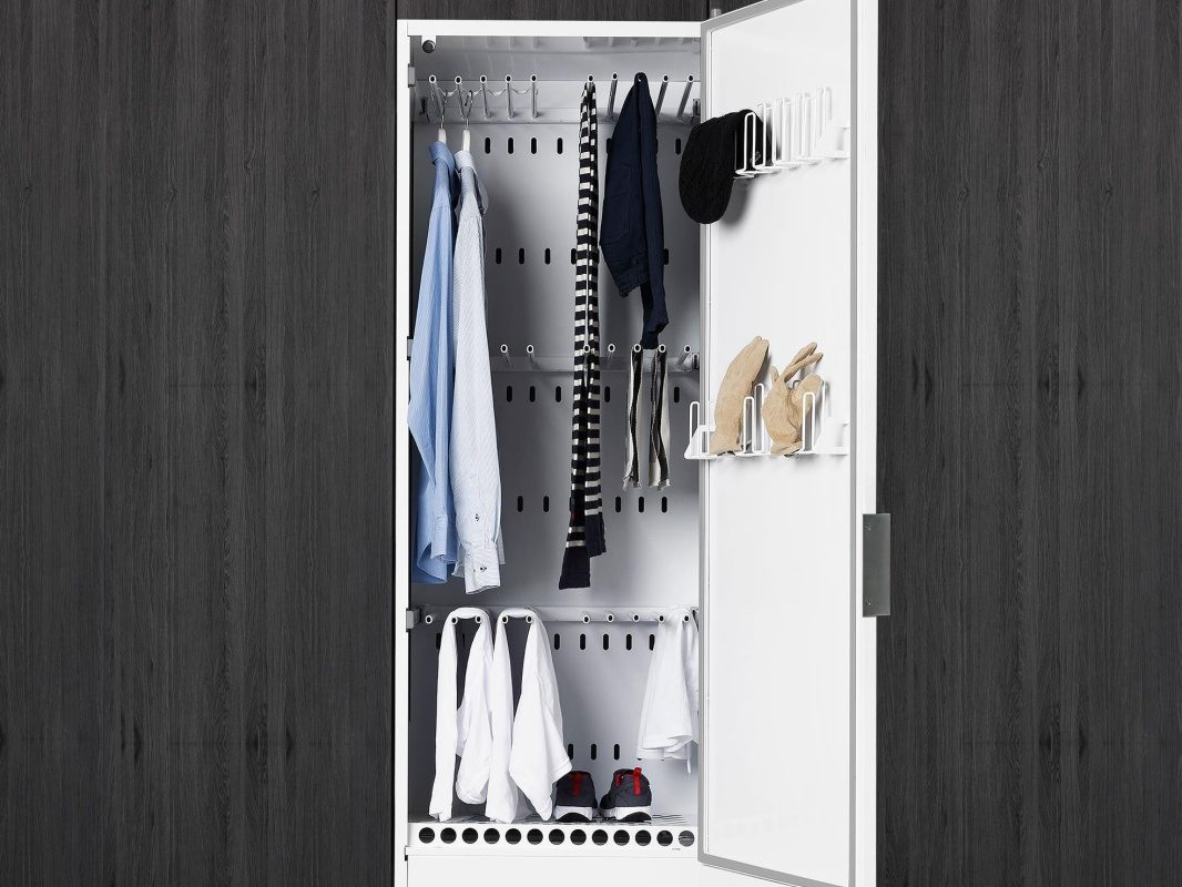 Drying Cabinet from ASKO Pro Laundry will fit all your need, up to 16 meter of clothes line.