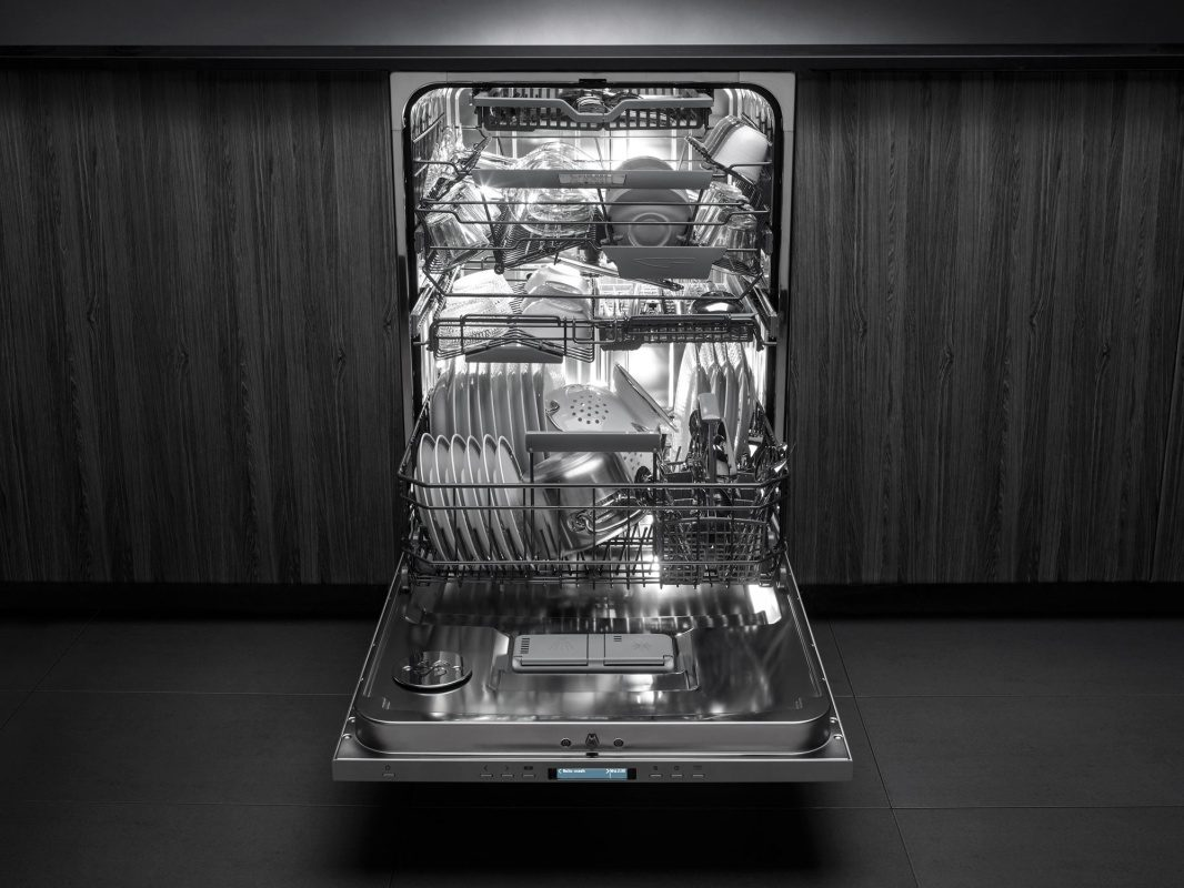 40% more loading capacity with dishwasher from ASKO.
