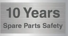 10 Years Spare Parts Safety