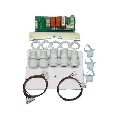 Kit relay board for professional washer