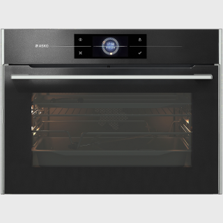 Black glass Pyrolytic oven 45cm